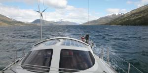 navigation entre iles et glaces
